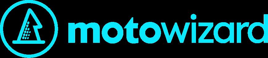 Motowizard Logo Light Blue